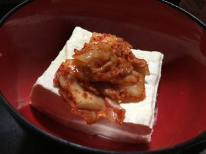 豆腐ダイエット キムチとポン酢
